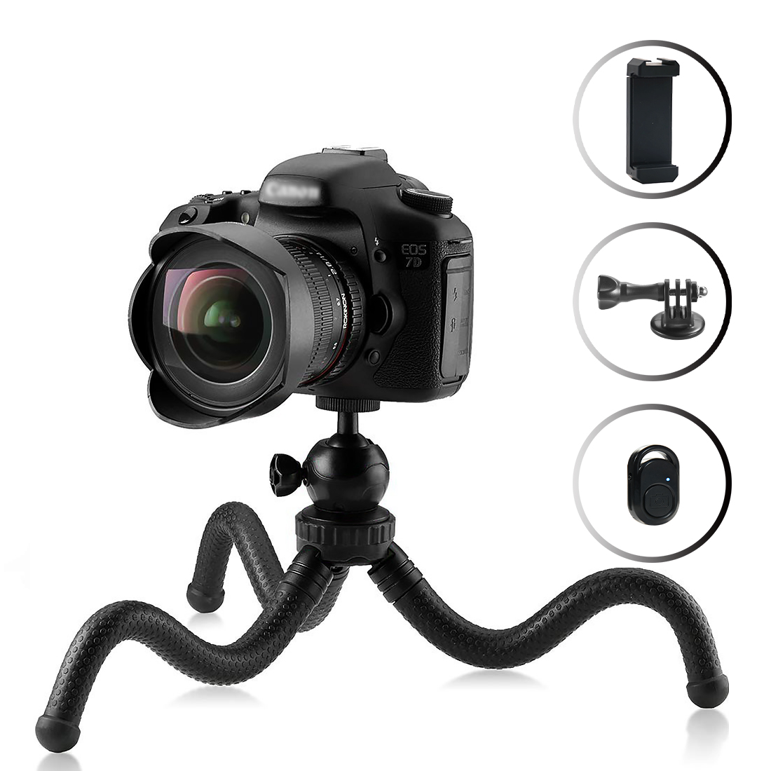 Mini Flexible Phone Tripod for...